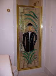 Shower Door Magnetic Seal by Crystalline Framed Hinge Shower Doors