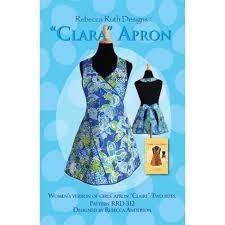 clara apron pattern ruth designs apron patterns at