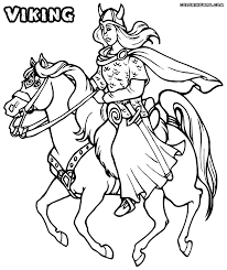 valkyrie coloring pages