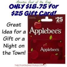 applebee s gift cards 25 applebee s gift card http www restaurantcouponfinder