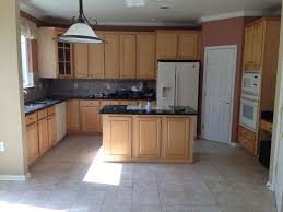 lovely kitchen paint colors with oak cabinets and white appliances