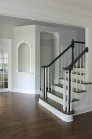 carolina charm home tour staircase makeover refinished hardwoods