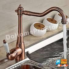 premium kitchen faucets antique copper kitchen faucet premium swivel sink spout single
