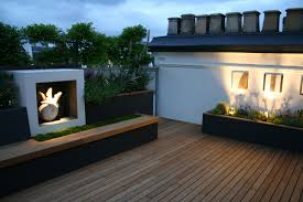 Rooftop Garden Design Kensington Roof Garden Terrace By Andy Sturgeon Combines Timber