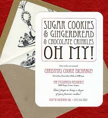 stunning cookie exchange invitations with sugar cookies and