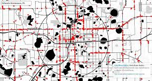 Greater Orlando Area Map by Orlando Ranks Poorly As A Storefront City Orlando Sentinel