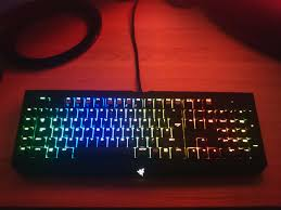 razer blackwidow chroma lights not working blackwidow ultimate chroma keyboard review