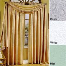 White Satin Curtains Whisper Crushed Satin Curtain Panels Sale Home Sweet