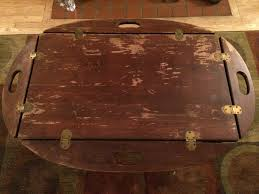 vintage rustic butler u0027s tray coffee table u2013 fashion1psychology