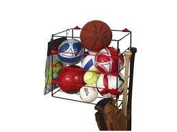 Ball Organizer Garage - racor ball rack sports storage br 1b