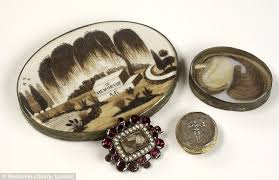 jewelry made from hair meet the women who collect morbid mourning jewelry made from human