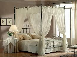 letto baldacchino letto con baldacchino in ferro battuto matrimoniale e contenitore