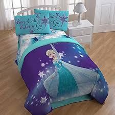 Frozen Bed Set Disney Frozen Magical Winter Comforter And Sheets 5pc