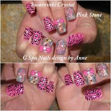 cross cheetah diamonds nails nails designs pinterest best
