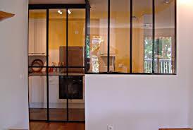 porte coulissante separation cuisine porte coulissante vitre toute hauteur exemples de verriere