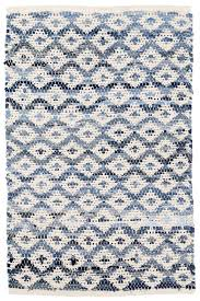 Woven Rugs Cotton Denim Rag Diamond Ivory Woven Cotton Rug Dash U0026 Albert