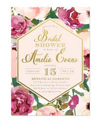 bridal brunch invite burgundy blush pink gold bridal shower brunch invitation