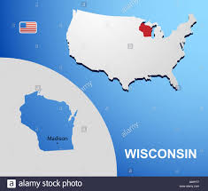 Madison Wi Map The Great Northern Route Across Wisconsin Road Trip Usa Map Usa