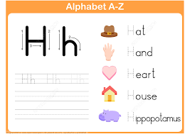 letter h tracing worksheet free printable puzzle games