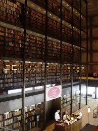 has rare book and manuscript library with windows of translucent