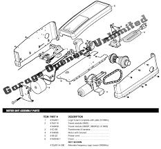 Garage Door Opener Shaft Drive by Chamberlain Garage Door Opener Drive Worm Gear Kit Bernauer Info