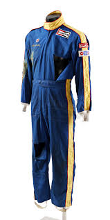 racing jumpsuit prop store collectables