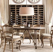 restoration hardware dining room tables flatiron round dining table