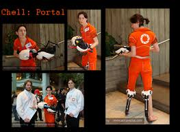 portal jumpsuit chell from portal s jumpsuit how are they doing it com
