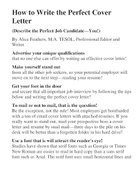 cover letter perfect cover letter uk perfect cover letters samples