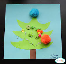 Arts And Crafts Christmas Tree - easy and cute diy christmas crafts for kids u2013 cute diy projects