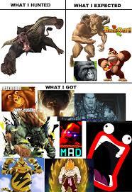 Monster Meme - rajang monster hunter know your meme