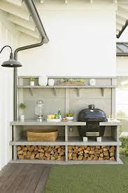 decoration terrasse exterieure moderne barbecue moderne et idées de cuisine extérieure pour l u0027été