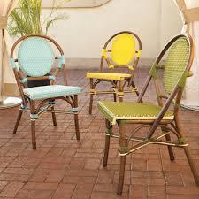 Rattan Bistro Chairs Furnishings Inspiring New Beginnings At Home