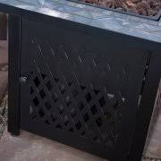 Uniflame Propane Fire Pit - uniflame slate mosaic propane fire pit table with free cover