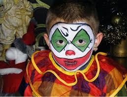 Halloween Costumes Kids Scary Clown Halloween Face Painting Kids 30 Cute Examples Multy Shades