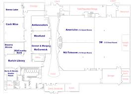 3m Center Map Room Rentals