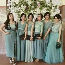 wedding dress brokat bridesmaid inspirasi kebaya vani kebaya