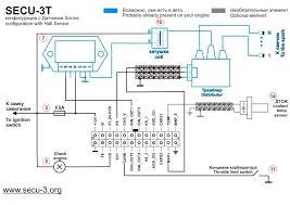 wiring diagrams for secu 3t 24 pins connector мпсз secu 3