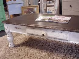 White Distressed Coffee Table Distressed Coffee Table Trunk In Calmly Drawer Distressed Coffee