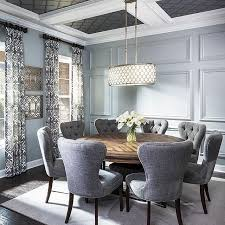 gray round dining table set instagram post by interior design interiors house and instagram