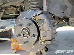 jeep grand rear brakes jeep wj brake upgrades 4 wheel drive sport utility magazine