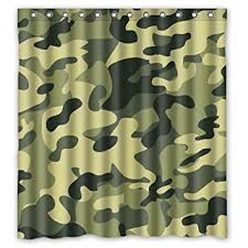 Camouflage Bathroom Buy Camo Tree Camouflage Waterproof Bathroom Shower Curtains