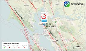 Berkeley Map M U003d3 0 Earthquake Strikes Near Berkeley Felt In Oakland And San