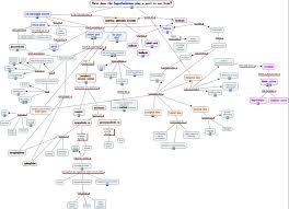 endocrine system concept map hypothalamus
