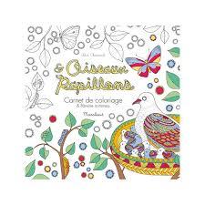 Oiseaux et Papillons  Carnet de coloriage  Flânerie antistress