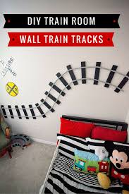 19 best boys bedroom images on pinterest boy bedrooms dinosaur great ideas thanks krishna this will help with choosing linen for their beds a super easy tutorial for making diy wall train tracks