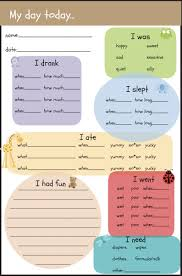 Synonym Babysitter Toddler Day Care Report Free Printable Parents And Daycare Ideas