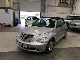 used chrysler pt cruiser convertible 2 4 touring rhd 2dr in durham