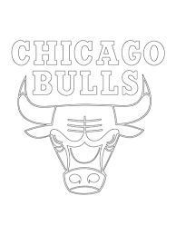printable bulls schedule chicago bulls logo coloring page free printable coloring pages