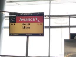 Avianca Route Map by Review Of Avianca Flight From Bogota To Miami In Economy